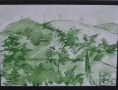 Nature - watercolour painting