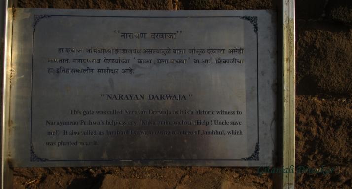 The story - at the Narayan Darwaja