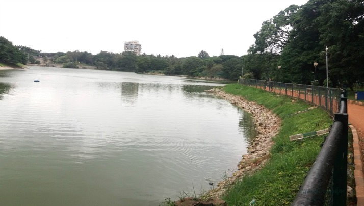 A view from the Lalbagh Garden, Bengaluru