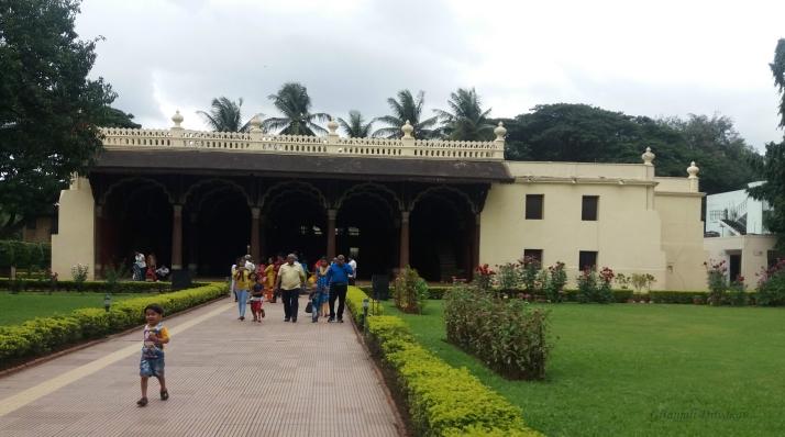 Tipu's Summer Palace in Bengaluru, Karnataka