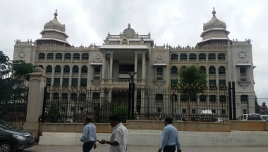 The Vidhana Soudha in Bengaluru, Karnataka