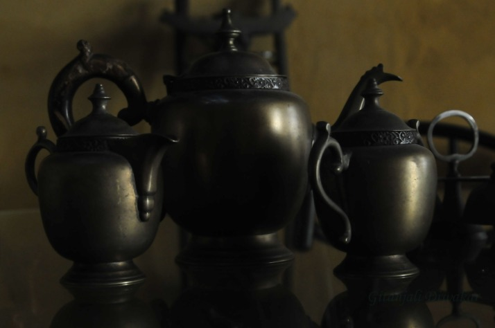 Fascinating antiques at Fort Kochi's Teapot Cafe
