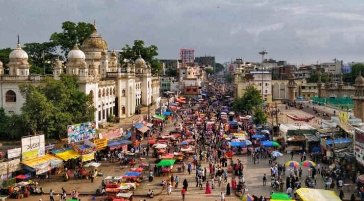 The old city of Hyderabad. Photo: Pawan Vasu
