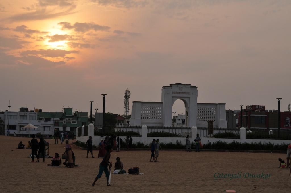 Elliot's Beach, Besant Nagar, Chennai