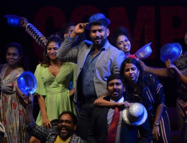 A scene from the musical play - Company by Kuku Company presented in June 2019 at Chennai's Museum Theatre