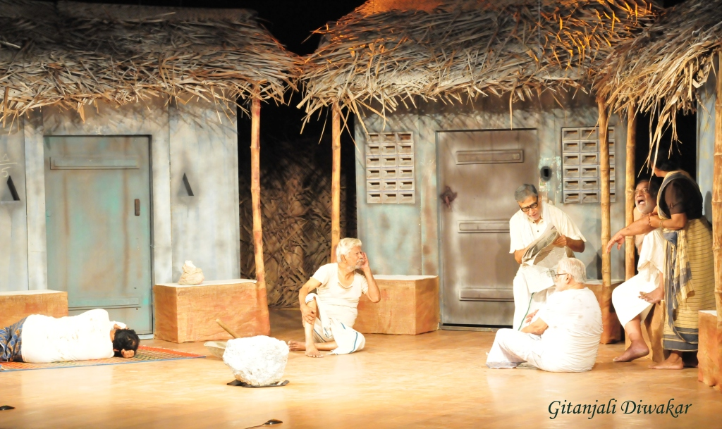 A scene from the play 'Water' directed by PC Ram
