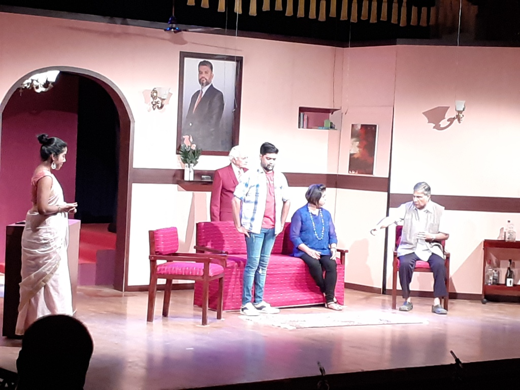 A scene from Midnight Hotel, directed by Victor Paulraj. Photo: Gitanjali Diwakar